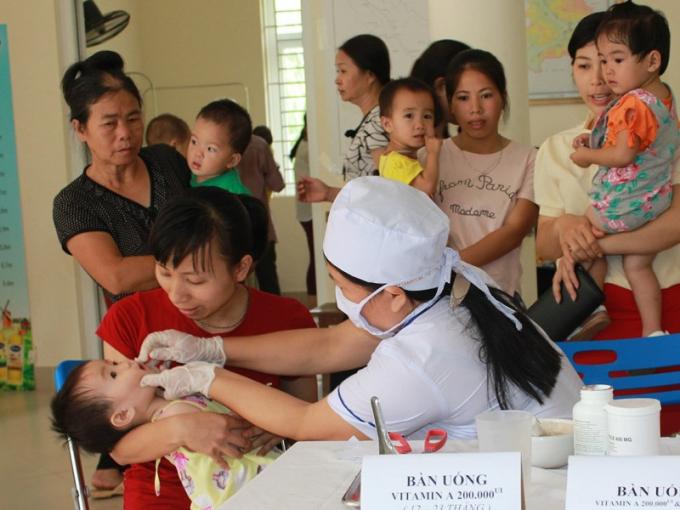 Hà Nội: 470.000 trẻ sẽ được uống vitamin A miễn phí từ ngày 31/5