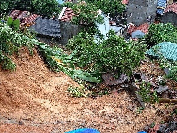 Hà Giang: Mưa lũ gây sạt lở đất, 3 người trong gia đình thương vong