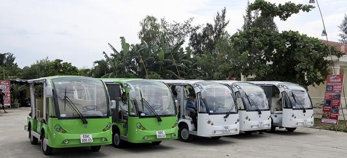 Hội An sẽ thí điểm sử dụng xe buýt điện phục vụ du lịch
