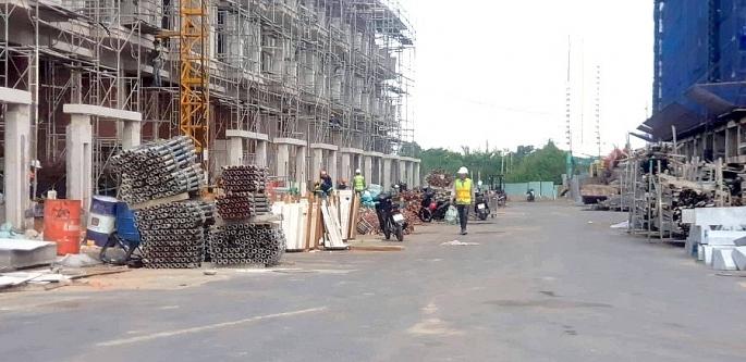 Sai phạm hàng loạt, dự án Green Star Sky Garden của Hưng Lộc Phát bị đình chỉ thi công