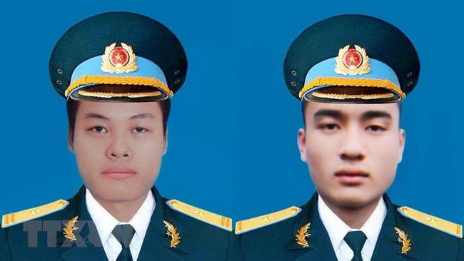 Truy thăng quân hàm cho hai phi công hy sinh tại Khánh Hòa