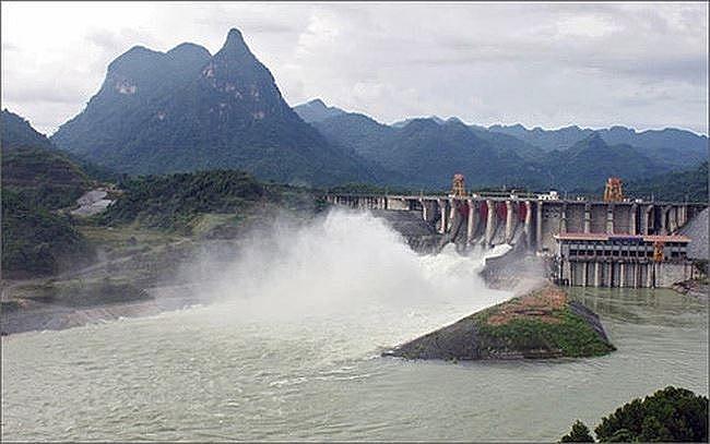 Cảnh báo: Thuỷ điện Tuyên Quang có thể xả lũ do mực nước dâng cao