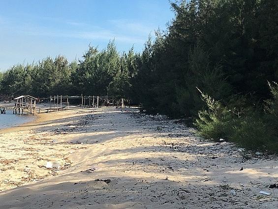 Thừa Thiên - Huế: Rác thải bủa vây bãi biển Hải Dương