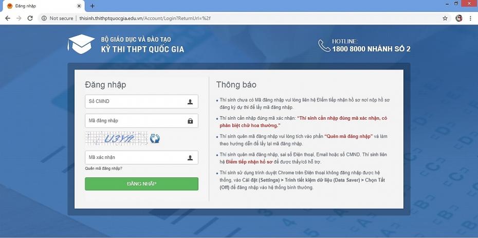 Bộ GD&ĐT vừa chính thức công bố điểm thi THPT quốc gia 2019