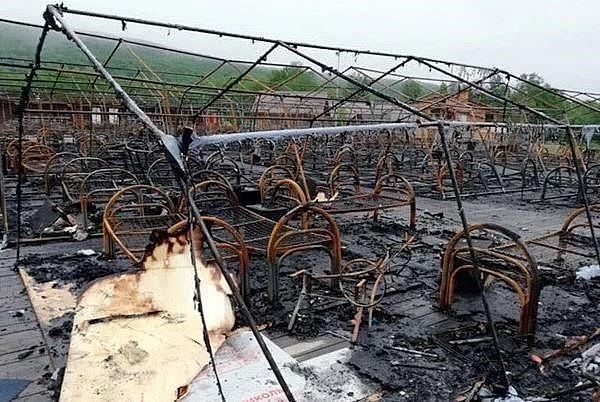 Nga: Cháy trại Hè thiếu nhi, nhiều trẻ em thương vong