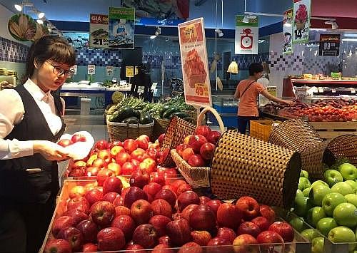 Bảo đảm năm 2019 có 100% cửa hàng kinh doanh trái cây được cấp biển nhận diện