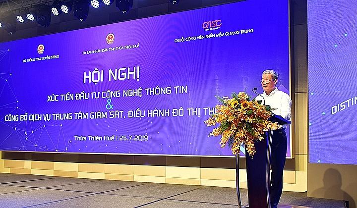 Thừa Thiên - Huế công bố dịch vụ Trung tâm Giám sát điều hành Đô thị thông minh