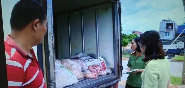Hưng Yên: Chặn đứng vụ vận chuyển 300 kg sản phẩm động vật không rõ nguồn gốc
