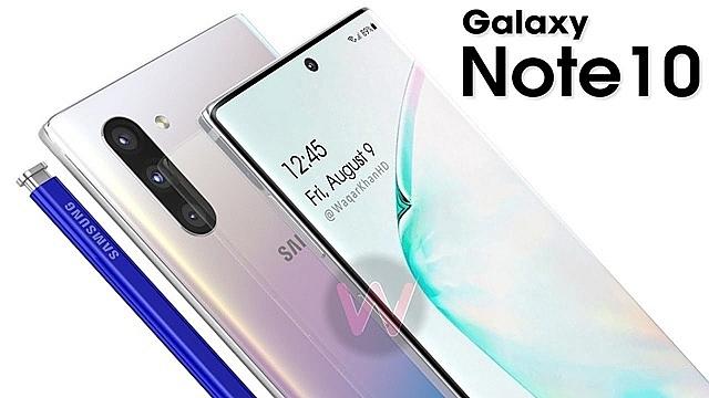 Điện thoại Galaxy Note 10 dự kiến sẽ bán được 9,7 triệu thiết bị trong năm nay