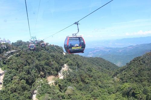 Đà Nẵng: Khôi phục tuyến đường bộ lên đỉnh Bà Nà