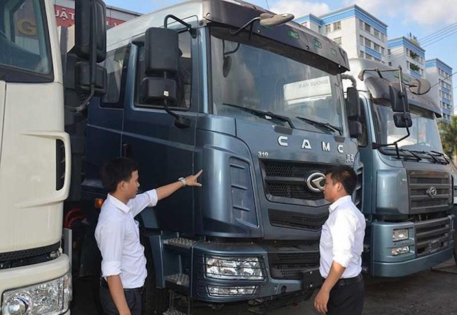 Đề xuất tăng thuế nhập khẩu xe tải hạng nặng lên 10%