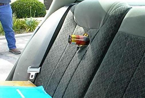Bình cứu hỏa có thể phát nổ ngay lập tức nếu nhiệt độ xe quá cao