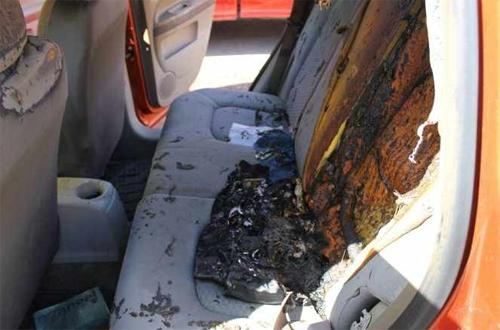 Pin của các thiết bị điện tử hoàn toàn có thể phát nổ trên xe