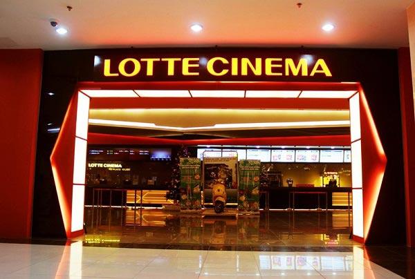 Bảng giá vé xem phim cụm rạp Lotte tại Hà Nội