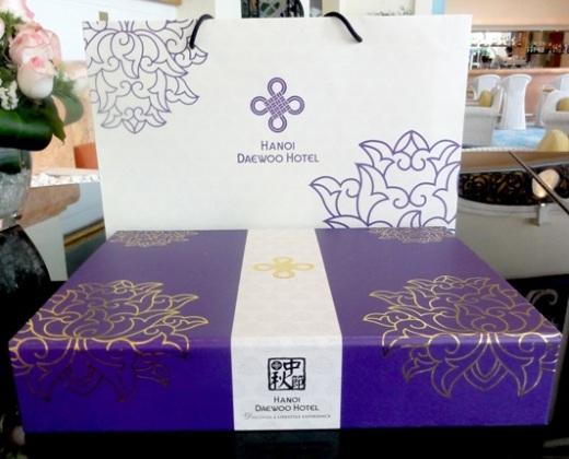 Bảng giá bánh Trung thu khách sạn Daewoo 2015