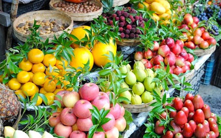 Những loại hoa quả Trung Quốc