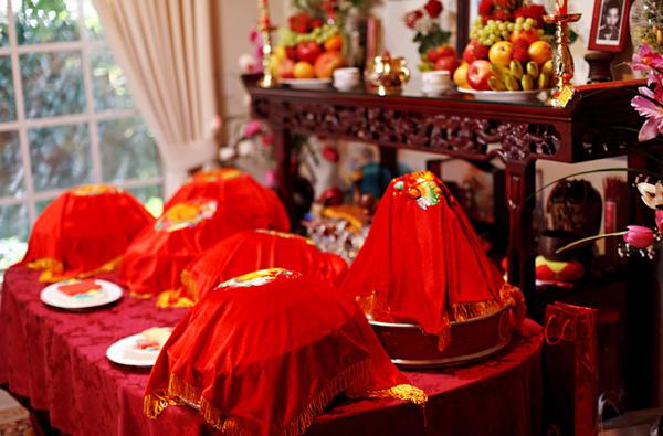 Lễ ăn hỏi là nghi lễ vô cùng quan trọng trong đám cưới.