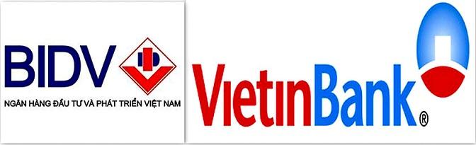 Phí dịch vụ chuyển tiền trong nước tại BIDV và VietinBank