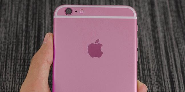 iPhone 6s màu hồng không hề tồn tại?