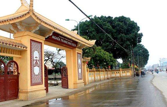 Dự án nghĩa trang Mai Dịch mở rộng như thế nào?