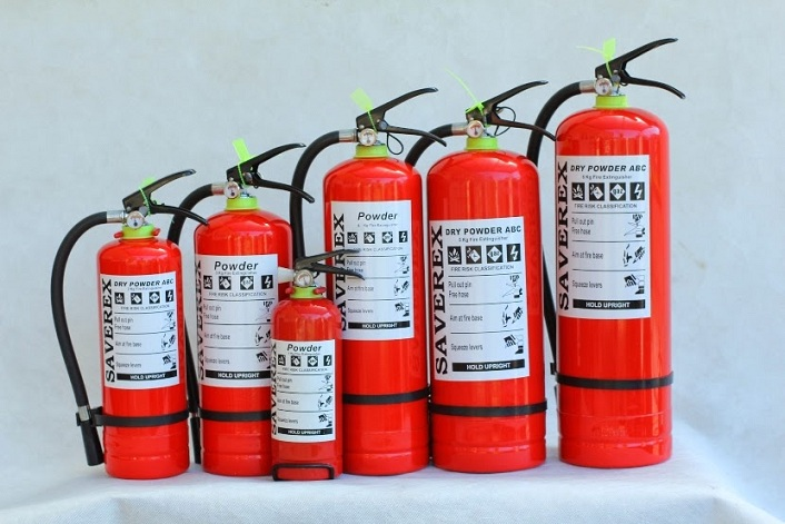 Những loại bình chữa cháy dành cho ô tô