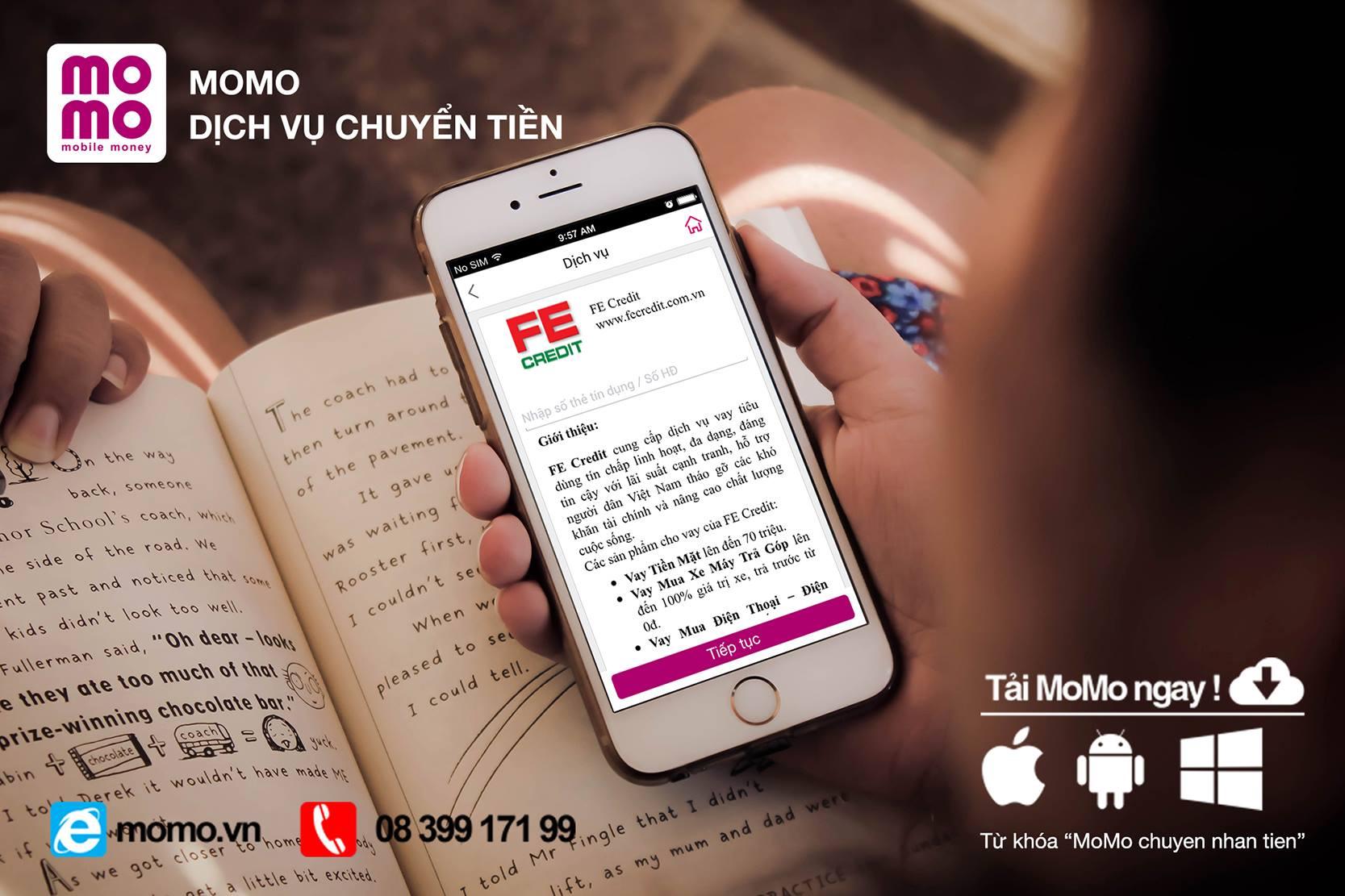 FE Credit hợp tác với MoMo triển khai kênh thanh toán mới phục vụ khách hàng