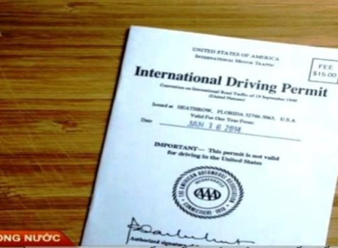 Thủ tục xin cấp giấy phép lái xe quốc tế gồm những gì?