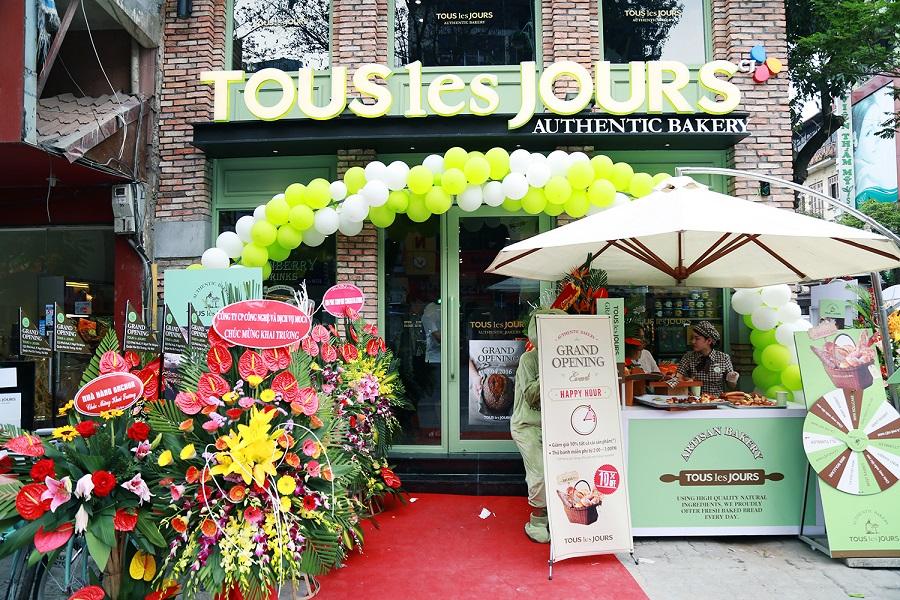 TOUS les JOURS khai trương cửa hàng thứ 1520 trên thế giới