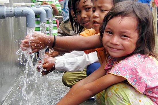 Đến năm 2050, 3,4 tỷ người có nguy cơ thiếu nước sạch dùng
