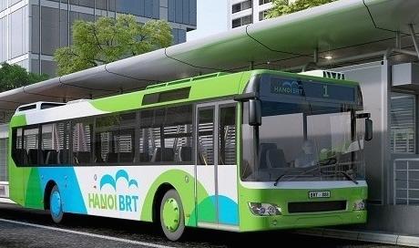 Tuyến buýt nhanh BRT Hà Nội và những điều cần biết