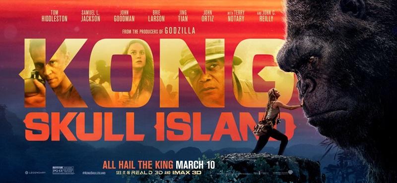 Lịch chiếu Kong: Đảo đầu lâu tại một số rạp Hà Nội cuối tuần
