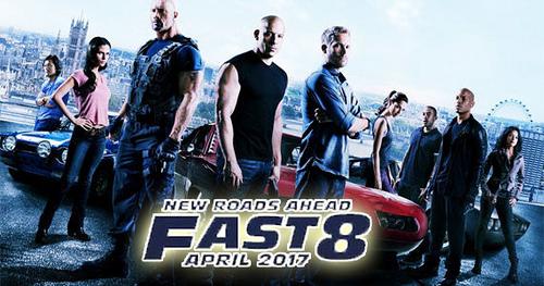 Lịch chiếu sớm Fast and the Furious 8 tại Hà Nội