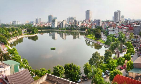 Mưa lớn giúp Hà Nội và TPHCM trong lành hơn vào giữa tuần