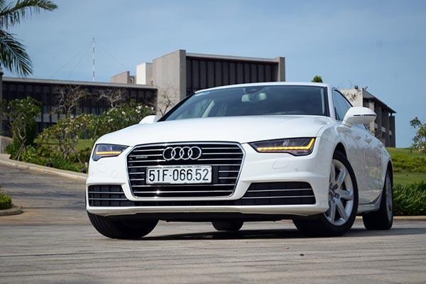 Bảng giá xe Audi tại Việt Nam mới nhất tháng 7/2017