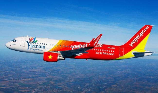 Vietjet Air mở bán 200.000 vé siêu tiết kiệm giá từ 0 đồng