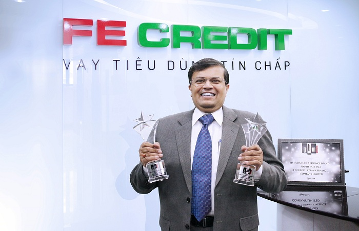 FE Credit 2 năm liên tiếp nhận giải