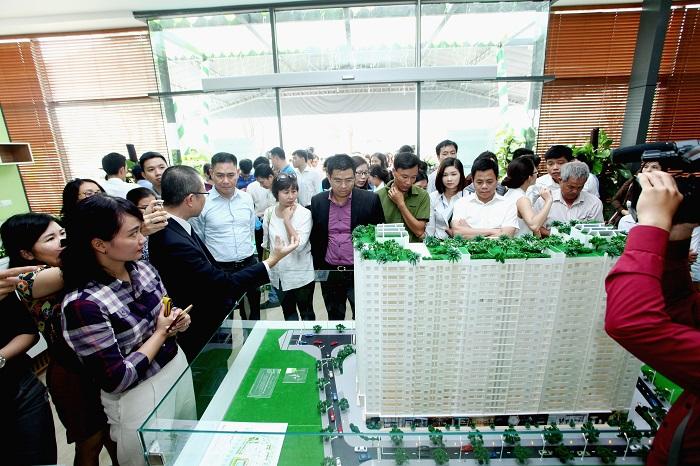 Căn hộ EcoHome Phúc Lợi thu hút rất nhiều khách hàng ở thị trường Long Biên.