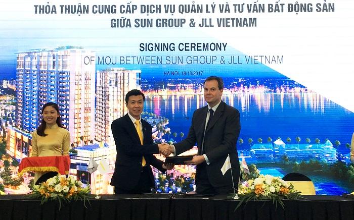 Căn hộ 5 sao bên Hồ Tây Sun Grand City Thuy Khue Residence sẽ do nhà quản lý quốc tế JLL vận hành