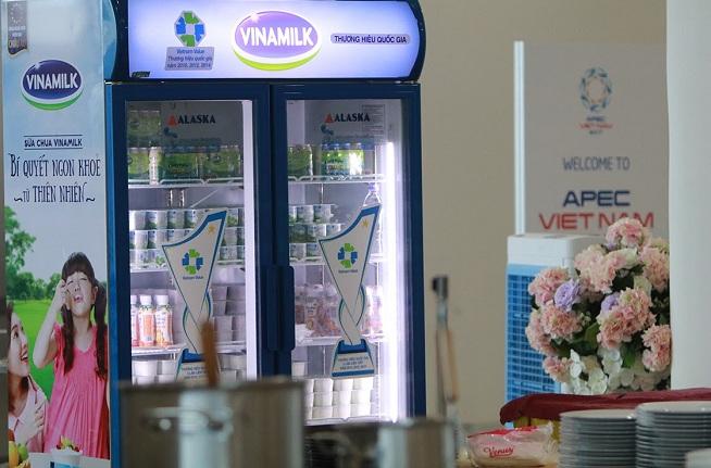 Hơn nửa triệu sản phẩm Vinamilk được chọn phục vụ Hội nghị cấp cao APEC 2017