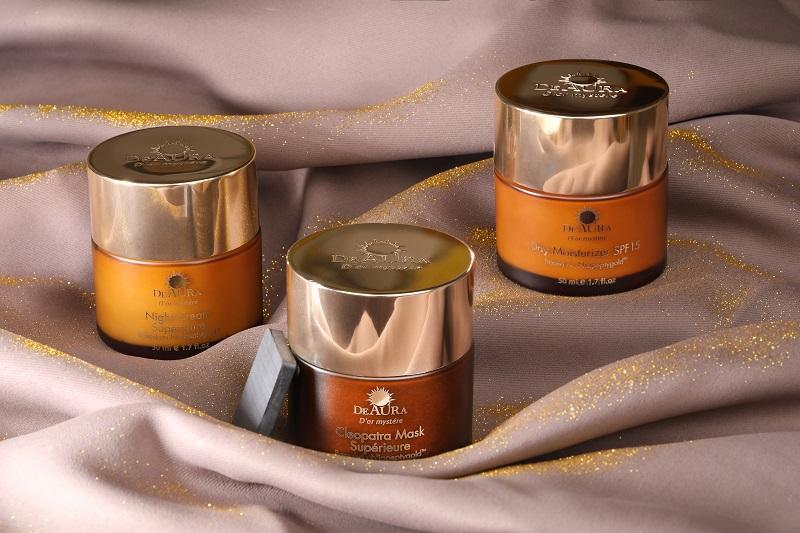 Mỹ phẩm DeAura D'or Mystere được chiết xuất từ thiên nhiên, an toàn thân thiện với làn da.