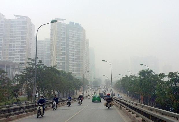 """Không khí Hà Nội và TPHCM """"báo động đỏ"""" sáng đầu tuần"""