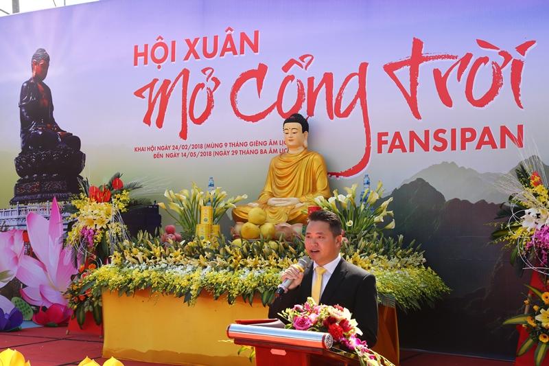 ông Nguyễn Xuân Chiến, Giám đốc Sun World Fansipan Legend.