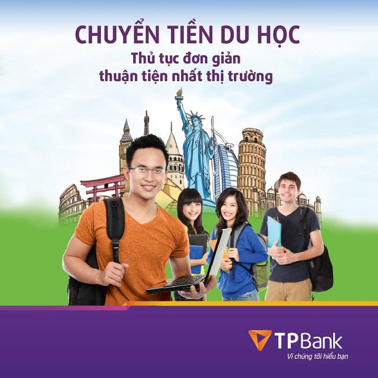 Chuyển tiền du học thủ tục đơn giản cùng TPBank