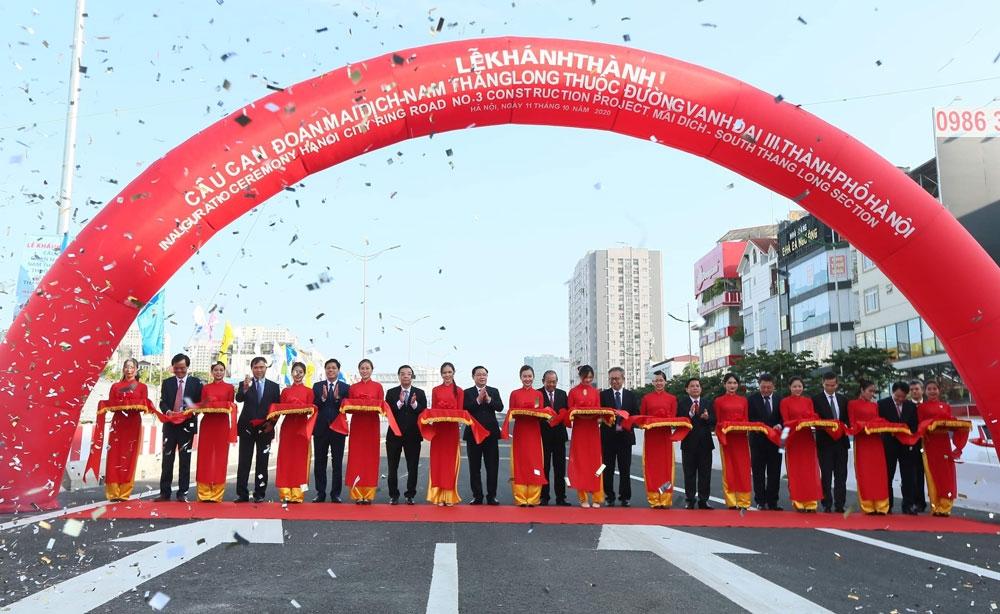Bản tin BĐS 24h: Khánh thành cầu cạn Mai Dịch - Nam Thăng Long