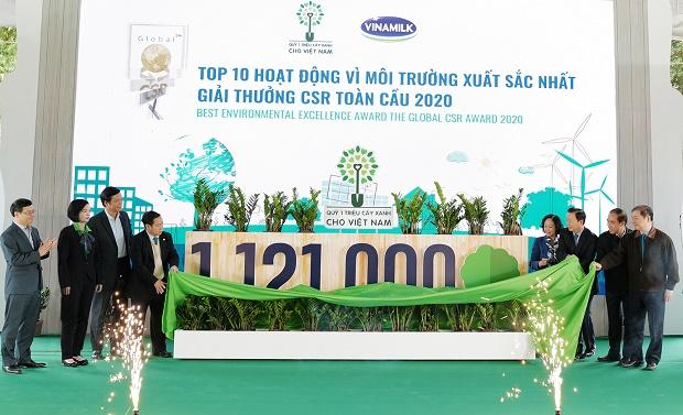 Hành trình ý nghĩa với 1.121.000 cây xanh được trồng cho Việt Nam