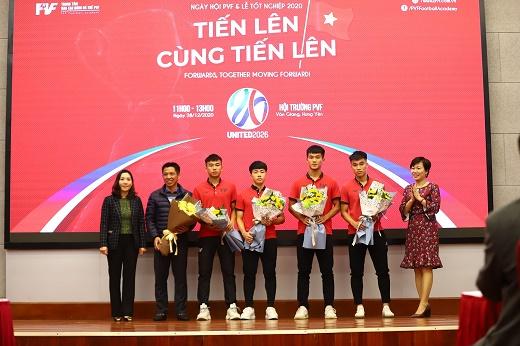 PVF chuyển nhượng 20 cầu thủ cho các CLB bóng đá chuyên nghiệp