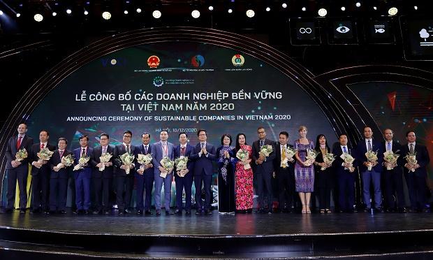 Vinamilk vững vàng vị trí dẫn đầu Top 100 DN bền vững Việt Nam năm 2020