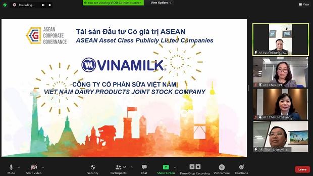 Vinamilk dẫn đầu tại Việt Nam và thuộc Top của Asean về quản trị công ty
