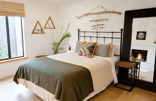 Mẹo trang trí phòng ngủ sáng tạo, độc đáo