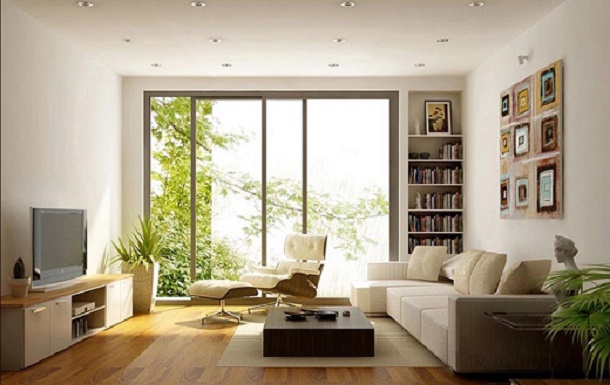 Những lựa chọn tối giản cho phòng khách nhỏ đa năng